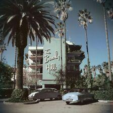 "'Beverly Hills Hotel' 1957 by Slim Aarons Original 16x16"" C-type Print"