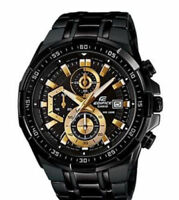 Men's Casio Edifice EFR-539BK-1AV Sport Watch Stopwatch Chronograph Stopwatch
