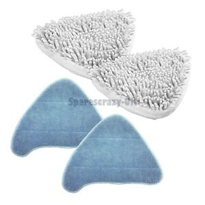 To Fit Vax Coral + Microfibre Steam Mop Pads 2+2 Pack