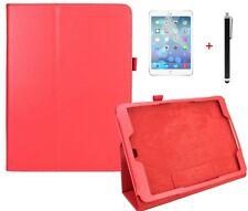 Case f Samsung Galaxy Tab S2 9.7 T810N T815N Schutzhülle Tasche Kunstleder rot