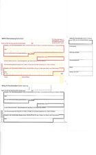 Sigel Überweisung Zahlschein SEPA DIN A4 100 Stück für WinBanking  / ZV570