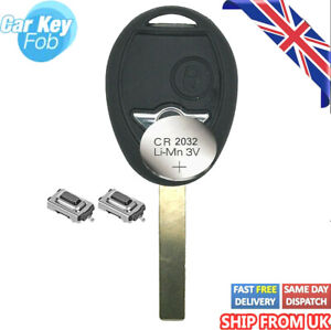 FOR BMW MINI COOPER R50 S ONE CLUBMAN 2 BUTTON REMOTE KEY FOB Reapair FIX  Kit