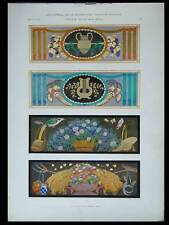 DESSUS DE PORTES -1924- LITHOGRAPHIE, ESCHLE