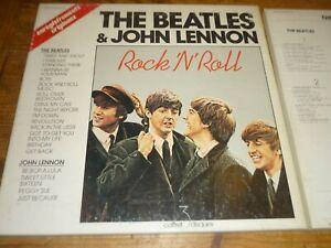 LES BEATLES & John Lennon  -  Coffret 3 lp vinyles