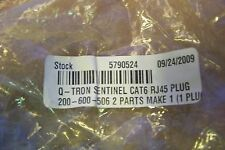 NEW Q-TRON SENTINEL CAT6 RJ45 PLUG 200-600-506 (Lot of 21)
