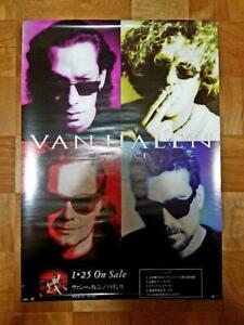 "Van Halen 1995 ""Balance"" announcement poster with Bonus added!"