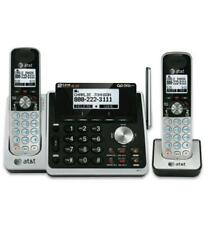 AT&T 2-Line Home/Office Answering System w/2 Cordless Phones Set TL88102+TL88002