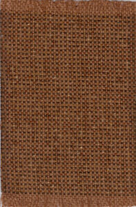 """Dollhouse Miniature Woven Accent Rug in Camel Tan and Brown 9"""" x 5 3/4"""""""