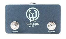 Walrus Audio - 2 Channel Switcher Electric Guitar Effects Pedal - New
