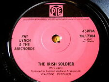 "PAT LYNCH & THE AIRCHORDS - THE IRISH SOLDIER  7"" VINYL"
