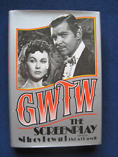 GONE WITH THE WIND SCREENPLAY - SIGNED by Actors CAMMIE KING & FRED CRANE