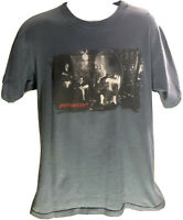 Vintage 1997 Counting Crows Recovering The Satellites Tour Mens L Blue T-Shirt