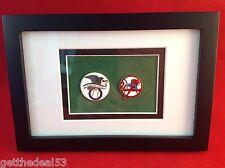 Framed - American League Baseball & NY Yankees - 2 set medallion