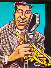LOUIS PRIMA PRINT poster big band jazz trumpet swing jump jive an' wail cd best