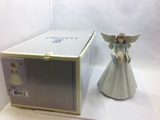 Lladro Figurine #5876 Angelic Cymbalist Tree Topper, with box
