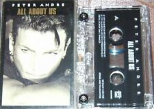 PETER ANDRE ALL ABOUT US CASSETTE SINGLE
