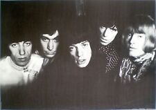 POSTER VINTAGE ANNI SETTANTA '70 THE ROLLING STONES MUSICA