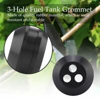 5X 3 Hole Fuel Tank Grommet For Trimmer Lawn Mower Echo 13211546730 V137000030 B