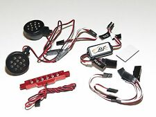 YY-MADMAX HPI KM ROVAN BAJA 1/5 5B BUGGY FRONT AND REAR LED LIGHT SET RED