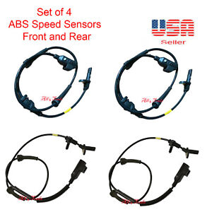 INEEDUP ALS1846 ABS wheel speed sensor Compatible for 2007-2012 for Land Rover Range Rover