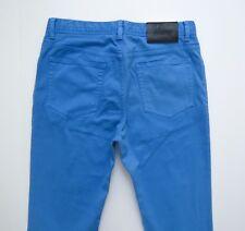 $600 BRIONI Slim Fit Blue Jeans Pants Slacks Size 38 US 54 Euro
