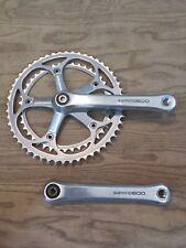 Shimano Ultegra 600 FC-6207 Road Bike Crankset 52/42t 170mm 130bcd
