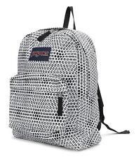 JanSport Superbreak 25L Backpack (JS00T501336) White Urban Optical 100%Authentic