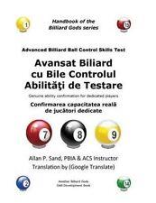 USED (LN) Avansat Biliard cu Bile Controlul Abilitati de Testare: Confirmarea ca