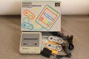 Nintendo Super Famicom Console SNES Japan Free shipping
