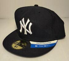 New Era 59Fifty MLB Kids Youth Size Cap New York Yankees Fitted Hat 5950 6 5/8