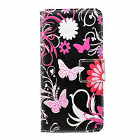Wallet Flip Card Phone Leather Cover Case For Samsung Galaxy S3 S4 Mini HTC M8