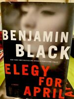 Elegy for April (Quirke, Book 3) by Black, Benjamin Brand New Hardcover Book 📖