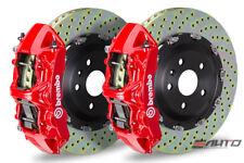 Brembo Front GT Big Brake 6Pot N Caliper Red 380x34 Drill Disc Supra JZA80 93-98