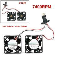 SHLF9WF0424F6D04 4CM 24V 0.08A 7400RPM For FANUC Driver Waterproof Cooling Fan