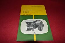 John Deere C380 Spin Spreader Operators Manual DCPA5