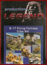 Legend Productions B-17 Flying Fortress Crew (Set of 10 Figures) 1/72 Model Kit