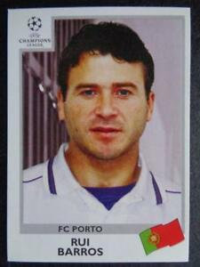 Panini Champions League 1999-2000 - Rui Barros (FC Porto) #163