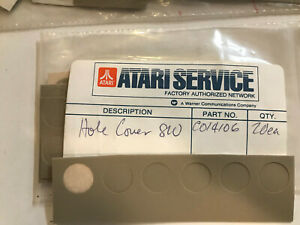 810 DISK DRIVE HOLE COVERS PLASTIC 4 each NEW Atari Parts for 810 Part # C014106