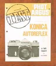 PHOT ARGUS AUTOREFLEX T TEST REPORT/35281