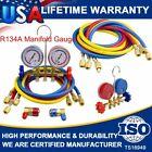 """AC A/C Manifold Gauge Sets Charging Refrigeration HVAC R12 R22 R134A + 1/2"""" ACME"""