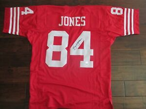 SIGNED Brent Jones Jersey - San Francisco 49ers - PSA