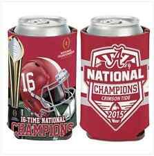 University of Alabama NATIONAL CHAMPIONS Can Cooler 12 oz. Koozie