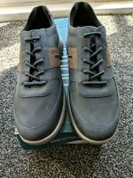 Hotter Charge Trainers blue uk 8 nubuck leather