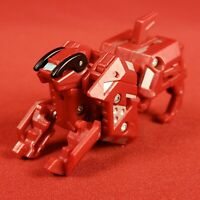Bakugan Red Pyrus Darkus Dark Hound Battle Brawlers Maxus Dragonoid