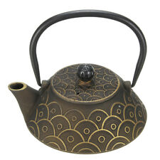 Japanese Tetsubin Cast Iron Teapot Kettle Pot Fish Scales With Strainer 900mL