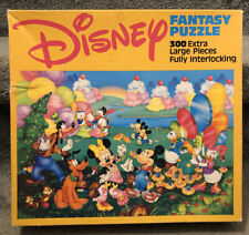 Disney Fantasy Puzzle 300 Large Pieces Mickey Minnie Mouse 22 1/2 X 33 Complete