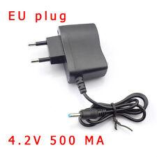 For 18650 Battery headlamp flashlight lamp AC Wall Power Charger Adapter EU Plug