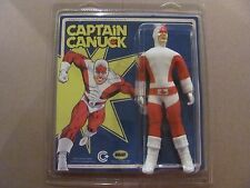 "Captain Canuck 8"" Action Figure 2014 Richard Comely Odeon Toys Brand New Moc"