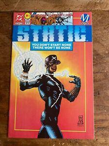 Static #1 DC / Milestone Comics 1993 Direct Variant Copy Static Shock 1st app 7