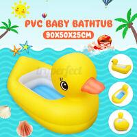 Wasserspieltier PVC Aufblasbare Ente Planschbecken Kinder Badewanne Wanne **☆
